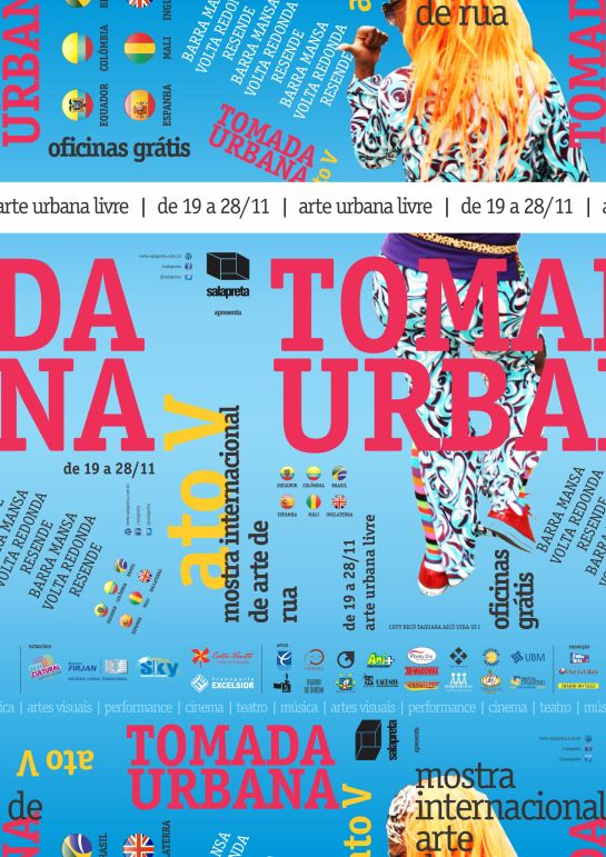 Tomada Urbana ato V - Cartaz 02